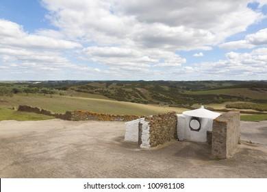 ancient community bread oven, near mertola, alentejo Portugal