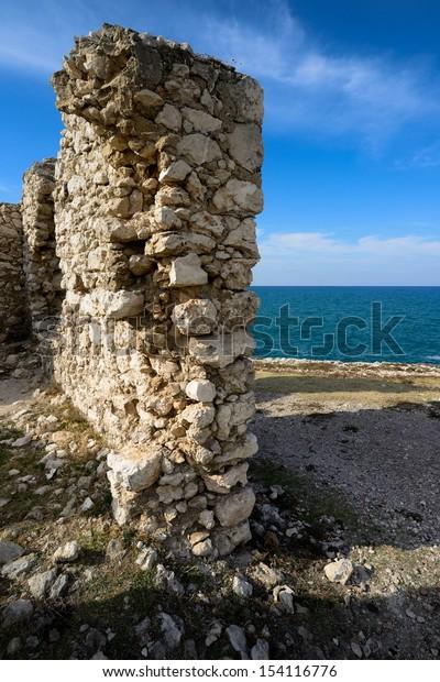 ancient construction - Gargano - Puglia - Italy