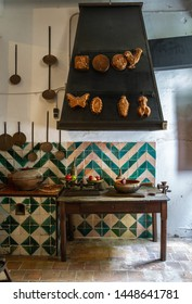 Ancient cuisine  in a Spanish village