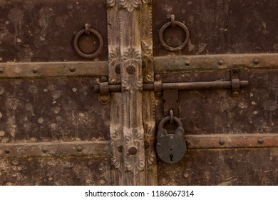 Ancient door and Locks