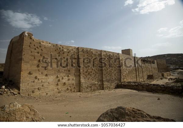 Ancient dumb in Mareb Yemen