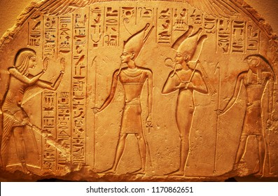 Ancient Egypt - Egyptian hieroglyphs