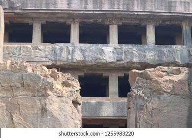 Ancient Ellora Caves, Aurandabad, Maharashtra, India