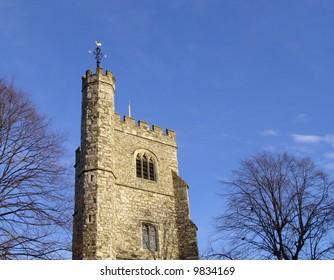 Ancient english church.