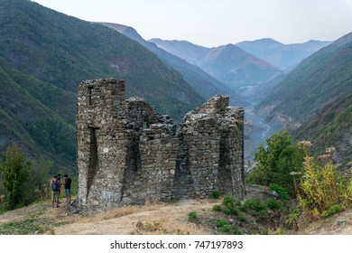 Ancient Fire Tower in Qax, Azerbaijan