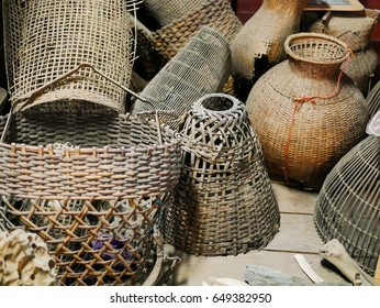 Ancient Fisherman Tools of Thai Fisherman