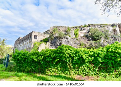 Ancient Fortifications in Pompeii, Italy