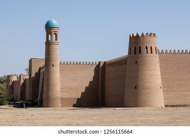 Ancient Fortress Hulbuk in Kulub in Tajikistan