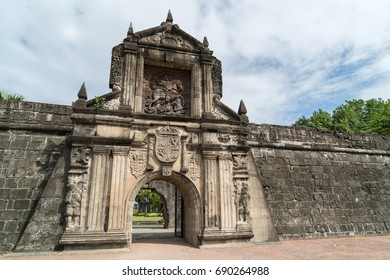 Ancient Fortress in Old Manila