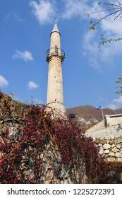 Ancient fortress in Travnik,Bosnia and Herzegovina