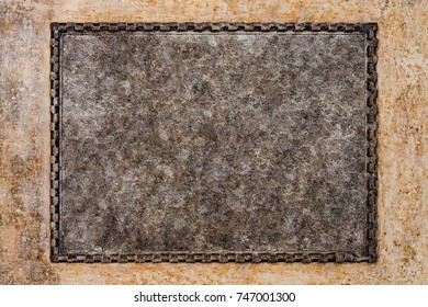 Blank stone tablet stock images royalty free images vectors ancient frame is empty on a vintage wall vintage frame on the wall ancient publicscrutiny Choice Image