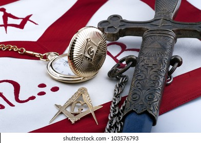 ancient freemasonry symbolic objects