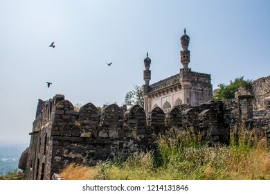 Ancient Golconda Fort, Hyderabad. Best destination in IncredibIe India.