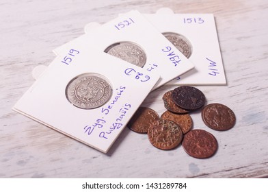 Ancient Grand Duchy of Lithuania coins numismatics collection