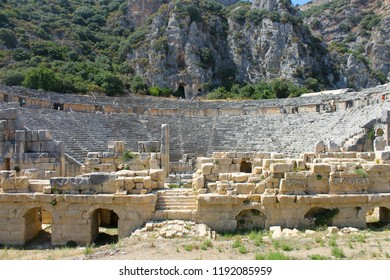 Ancient Greco-Roman Theater of Mira, Demre, Turkey