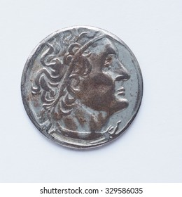 Ancient Greek coin from Greece