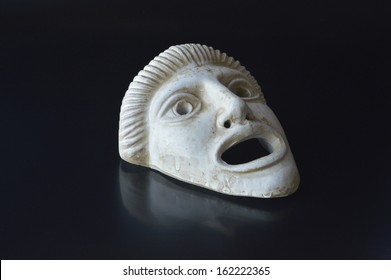 Ancient Greek drama mask