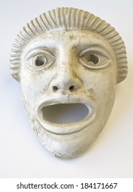Ancient Greek drama mask