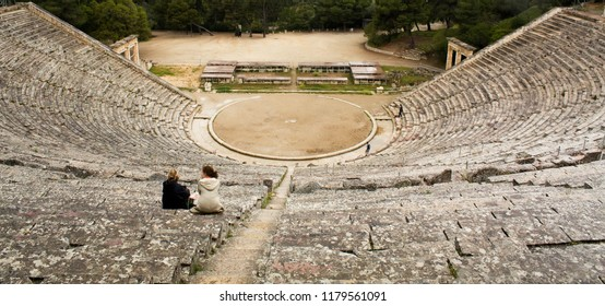Ancient Greek Epidauros Theatre