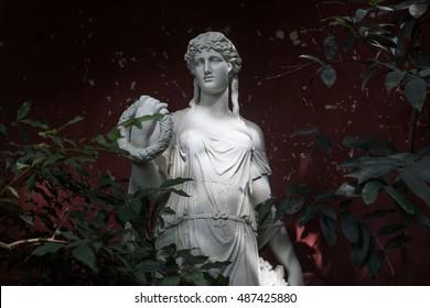 Ancient Greek statue.