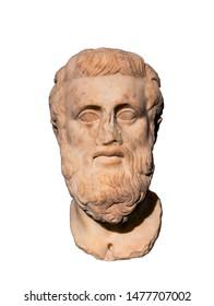 Ancient Greek tragedian Sophocles (498-406) BC.