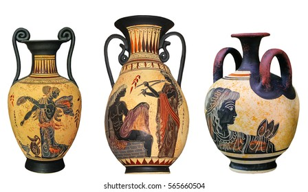 Greek Vase Images Stock Photos Vectors Shutterstock Extraordinary Greek Vase Patterns