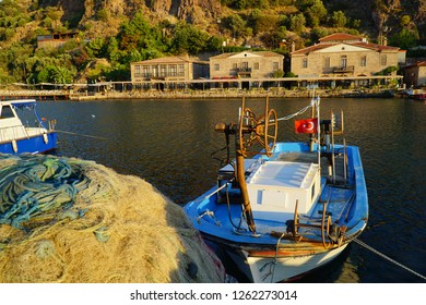 Ancient harbor of Assos, Turkey.