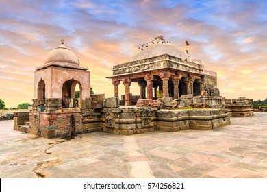 The ancient Harshat Mata temple in Abhaneri, Rajasthan, North India.