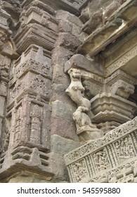 Ancient hindu sculptures