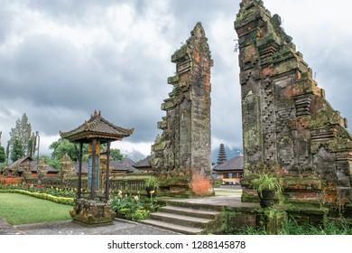 Ancient Hindu temple Pura Ulun Danu Bratan