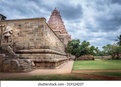Ancient Hindu temple of Shiva in Tamil Nadu, India