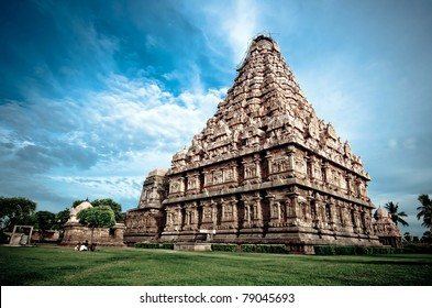 an ancient hindu temple in southern india