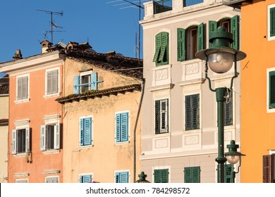 Ancient Houses in Rovinj
