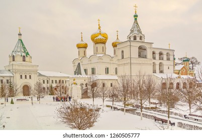 Ancient Ipatiev Monastery Monastery in Kostroma - the Imperial Romanov dynasty originated there