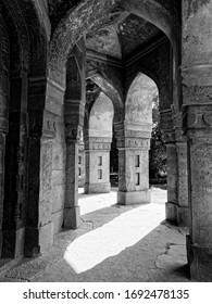 altertümliches islamisches Gebäude in Indiana