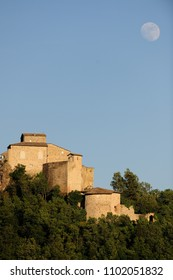 ancient Italian medieval castle