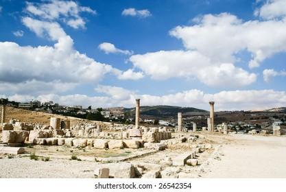 Ancient Jerash ruins, Jordan