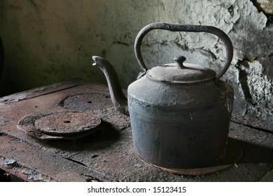 Ancient kettle