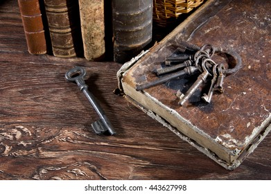 Ancient keys . Once they could open different locks