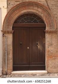 Ancient and large door