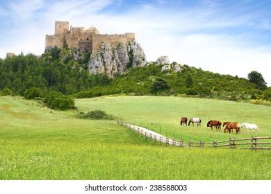 The Ancient Loarre Castle, Spain