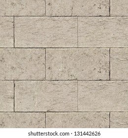 Ancient Marble Wall. Seamless Tileable Texture.