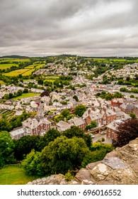 The ancient market town of totnes, Devon, England