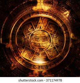 Mayan Calendar Stock Images RoyaltyFree Images Vectors