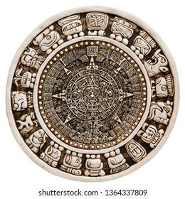 Ancient Mayan Glyphs