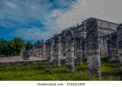 ancient mayan pyramid city in mexico