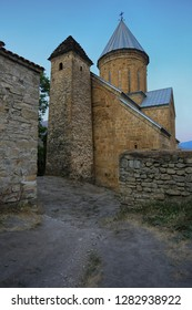 Ancient medieval fortress Ananuri in Georgia