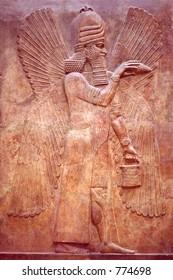 Ancient Mesopotamian relief