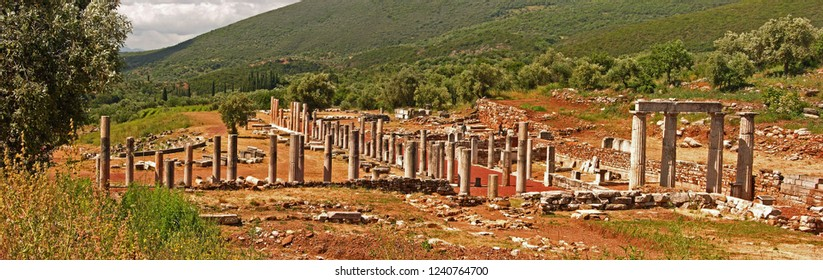 Ancient Messene, Peloponnese, Greece