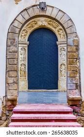 Ancient metal doors